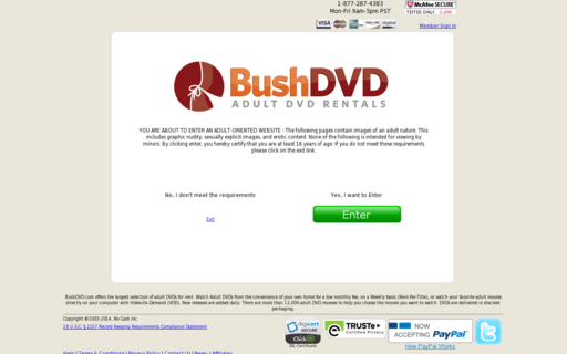 Access bushdvd.com using Hola Unblocker web proxy