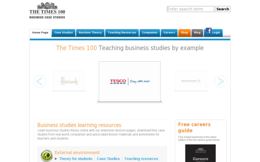 Access businesscasestudies.co.uk using Hola Unblocker web proxy