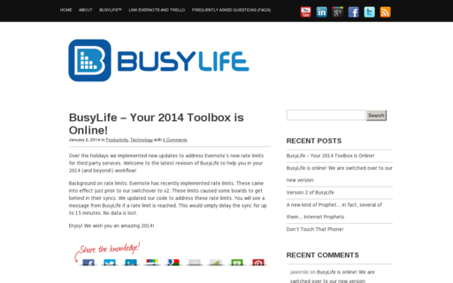 Access busylife.co using Hola Unblocker web proxy