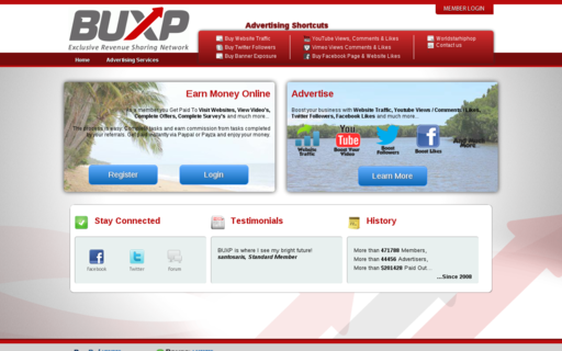 Access buxp.org using Hola Unblocker web proxy