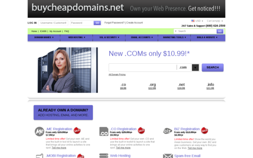 Access buycheapdomains.net using Hola Unblocker web proxy