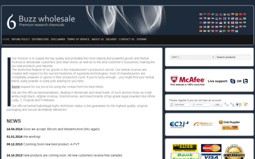 Access buzz-wholesale.co using Hola Unblocker web proxy