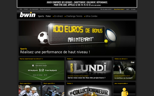 Access bwin.fr using Hola Unblocker web proxy