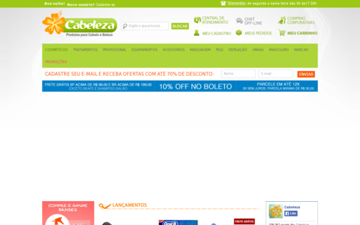 Access cabeleza.com.br using Hola Unblocker web proxy