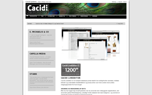 Access cacidi.dk using Hola Unblocker web proxy