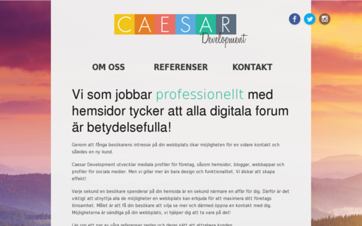 Access caesardev.se using Hola Unblocker web proxy