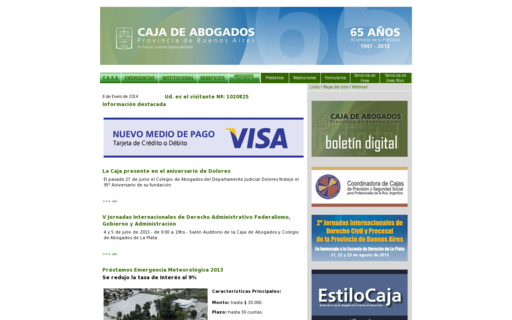 Access cajaabogados.org.ar using Hola Unblocker web proxy