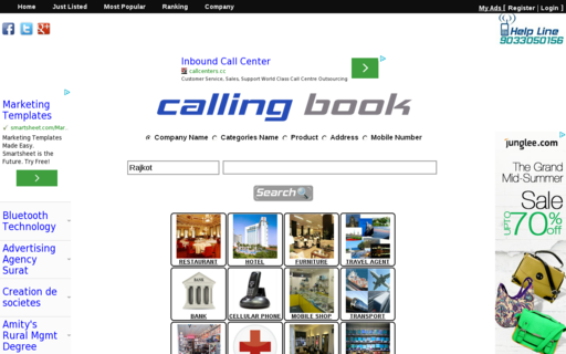 Access callingbook.com using Hola Unblocker web proxy