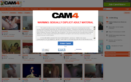 Access cam4s.com using Hola Unblocker web proxy