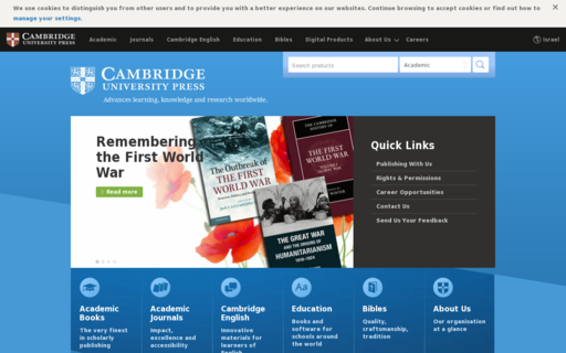 Access cambridge.org using Hola Unblocker web proxy