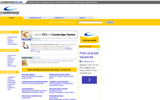 Access cambridgedirectory.co.uk using Hola Unblocker web proxy