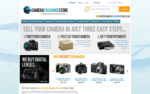 Access cameraexchangestore.co.uk using Hola Unblocker web proxy
