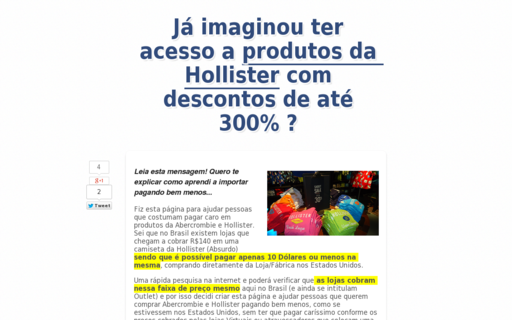 Access camisahollister.com.br using Hola Unblocker web proxy