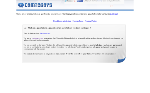Access camtogays.com using Hola Unblocker web proxy