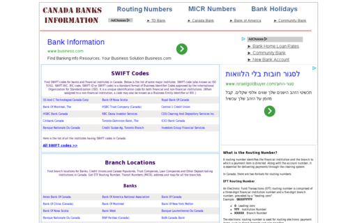 Access canada-banks-info.com using Hola Unblocker web proxy