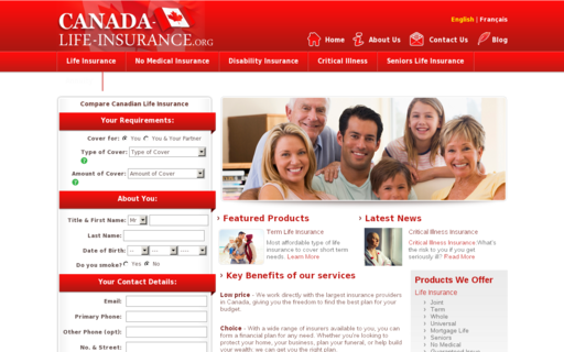 Access canada-life-insurance.org using Hola Unblocker web proxy