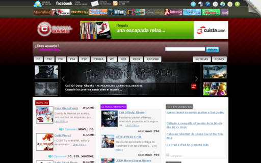 Access canalgame.com using Hola Unblocker web proxy
