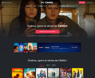Access canalplus.fr using Hola Unblocker web proxy