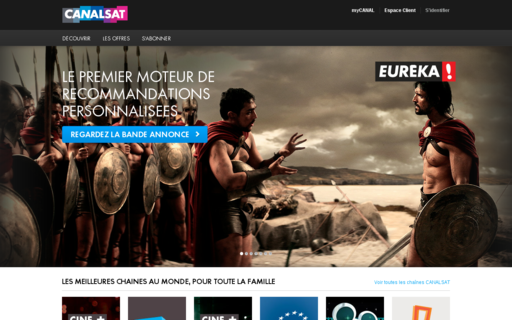 Access canalsat.fr using Hola Unblocker web proxy