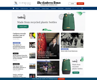 Access canberratimes.com.au using Hola Unblocker web proxy