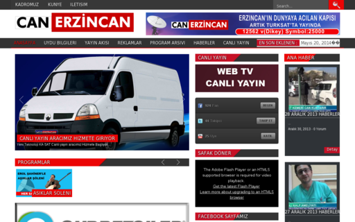 Access canerzincantv.com using Hola Unblocker web proxy