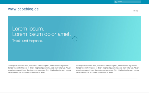 Access capeblog.de using Hola Unblocker web proxy