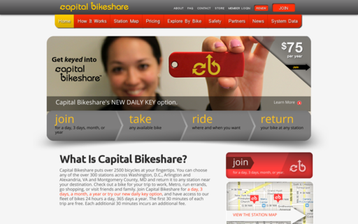 Access capitalbikeshare.com using Hola Unblocker web proxy