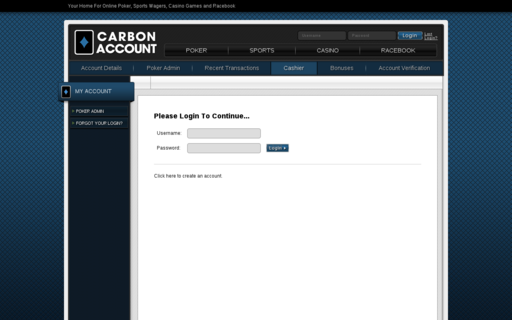 Access carbonaccount.ag using Hola Unblocker web proxy