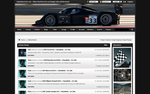 Access carbonracecars.com using Hola Unblocker web proxy