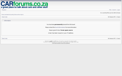 Access carforums.co.za using Hola Unblocker web proxy