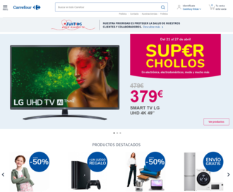 Access carrefour.es using Hola Unblocker web proxy