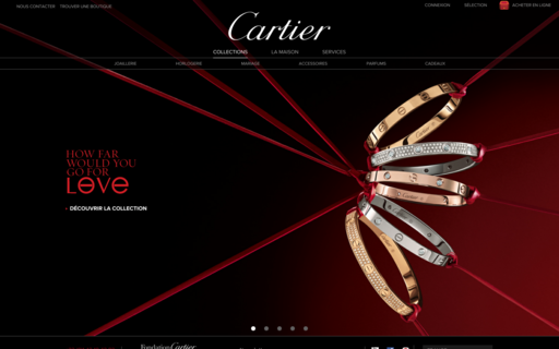 Access cartier.fr using Hola Unblocker web proxy