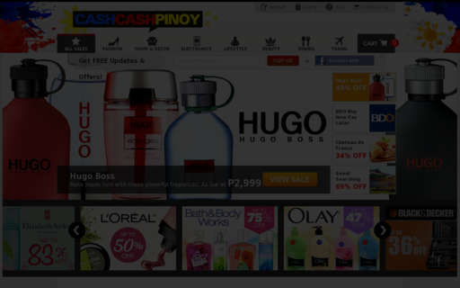 Access cashcashpinoy.com using Hola Unblocker web proxy