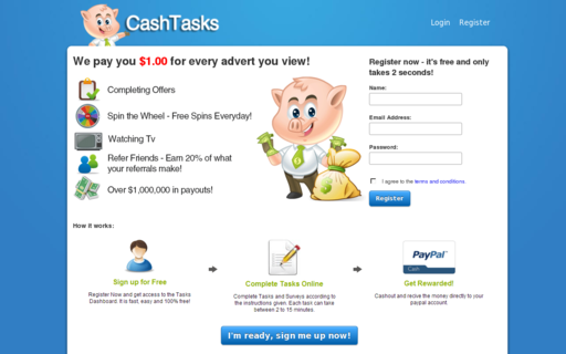 Access cashtasks.com using Hola Unblocker web proxy