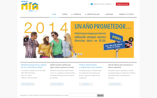 Access casillamia.uy using Hola Unblocker web proxy