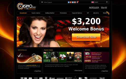 Access casino.com using Hola Unblocker web proxy