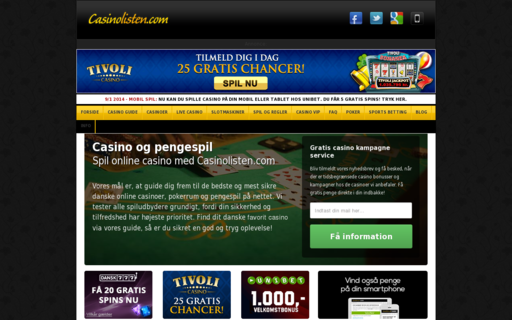 Access casinolisten.com using Hola Unblocker web proxy