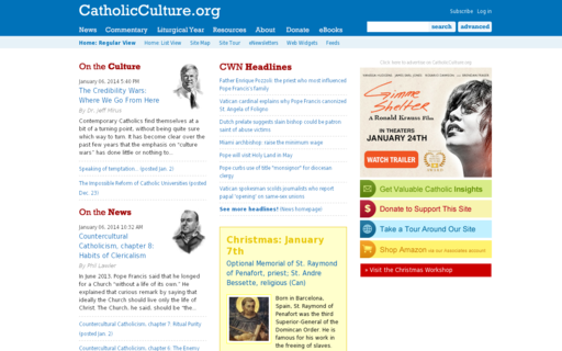 Access catholicculture.org using Hola Unblocker web proxy