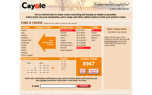 Access cayole.com using Hola Unblocker web proxy