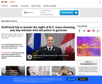 Access cbc.ca using Hola Unblocker web proxy