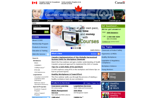 Access ccohs.ca using Hola Unblocker web proxy