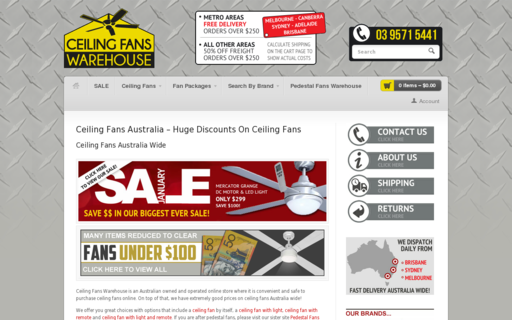 Access ceilingfanswarehouse.com.au using Hola Unblocker web proxy