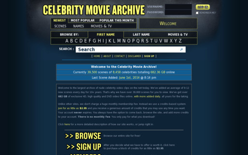 Access celebritymoviearchive.com using Hola Unblocker web proxy