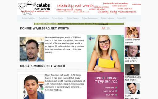 Access celebsnetworth.net using Hola Unblocker web proxy
