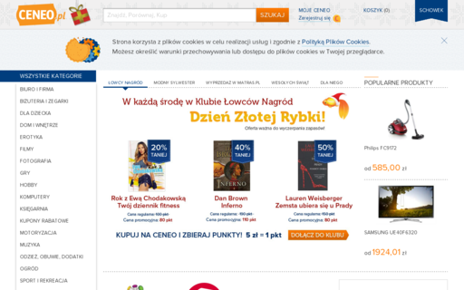 Access ceneo.pl using Hola Unblocker web proxy