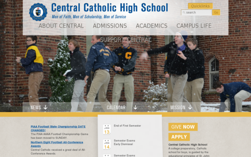 Access centralcatholichs.com using Hola Unblocker web proxy