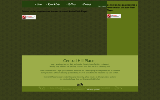 Access centralhillplace.com using Hola Unblocker web proxy