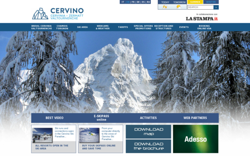Access cervinia.it using Hola Unblocker web proxy