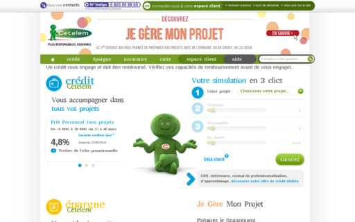 Access cetelem.fr using Hola Unblocker web proxy