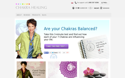 Access chakrahealing.com using Hola Unblocker web proxy